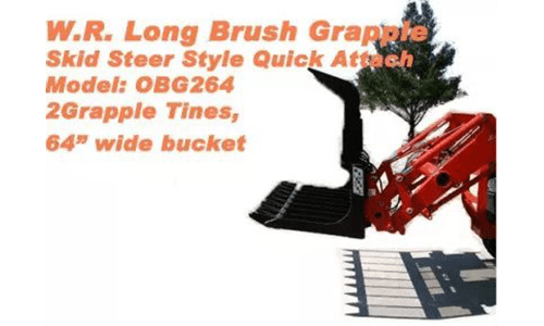W.R: long brush grapple